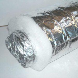 Canne fumarie con Tubo flessibile alluminio estensibile e flessibile alluminio isolato